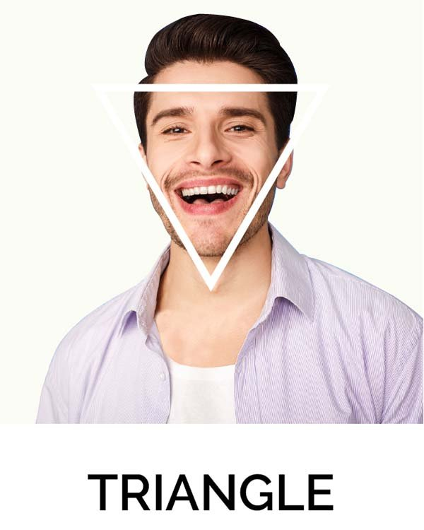 Triangle Shape Face